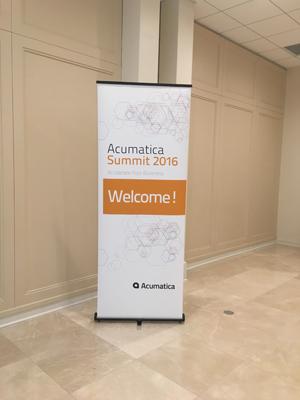Acumatica Summit 2016
