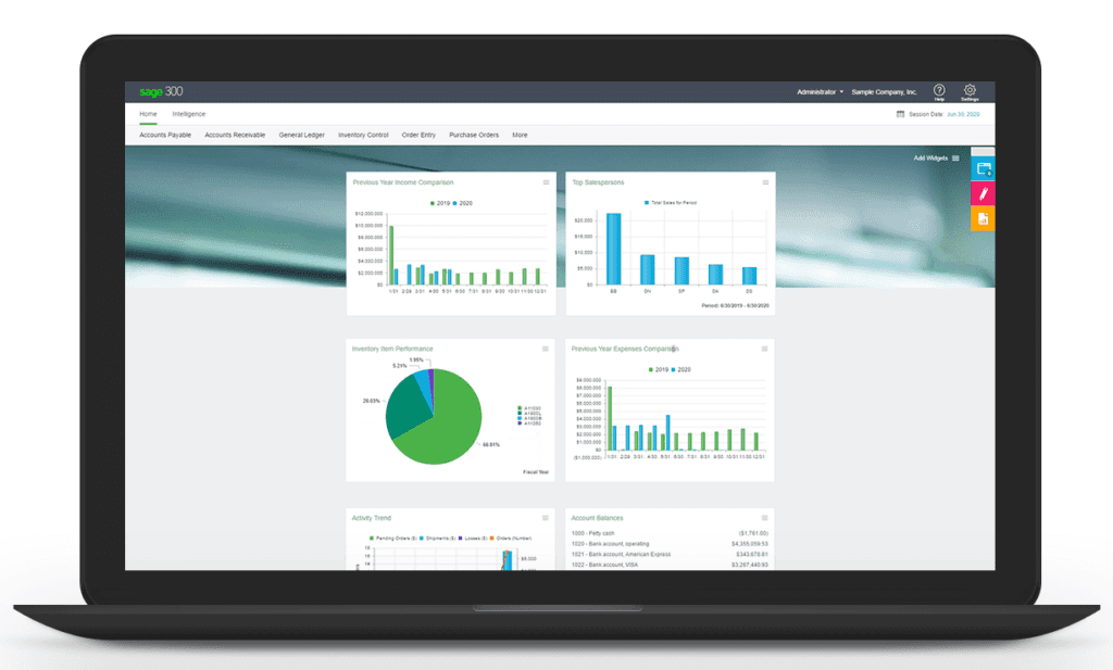 Sage 300cloud Accounting Software