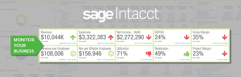 Features of Sage Intacct Accounting Solutions