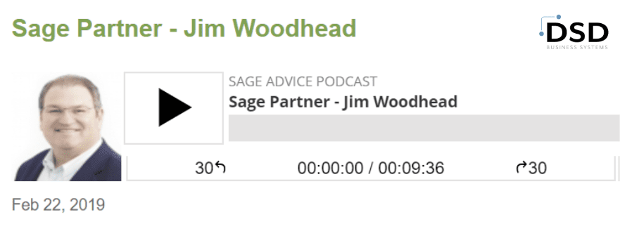 Sage Advice Podcast live from Sage Summit San Diego with Jim Woodhead and Ed Kless