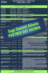 Sage Summit Atlanta Partner Day Agenda