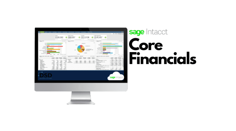 Sage Intacct Cloud Accounting Core Financials