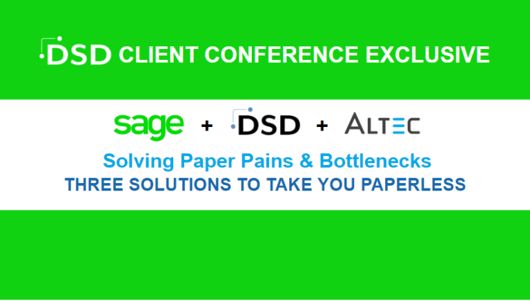 Sage Paperless Office Altec Paperless Plus DSD InstaDocs Session