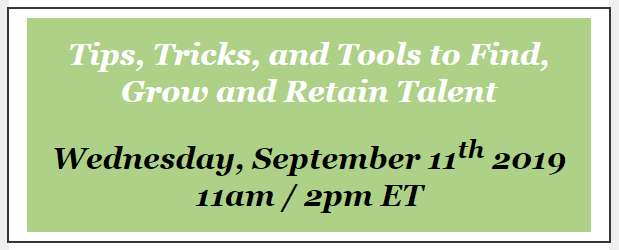 Sage HRMS Webinar: Tips, Tricks, and Tools to Find, Grow and Retain Talent