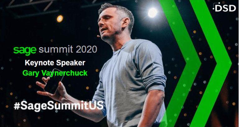Sage Summit Orlando 2020 Keynote Gary Vaynerchuck