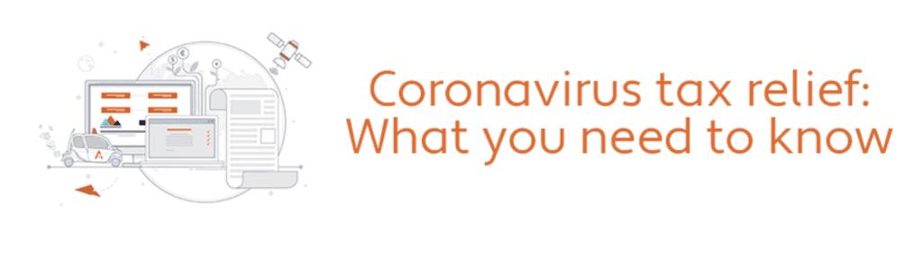 Coronavirus Tax Relief Avalara