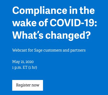 COVID-19 Tax Compliance