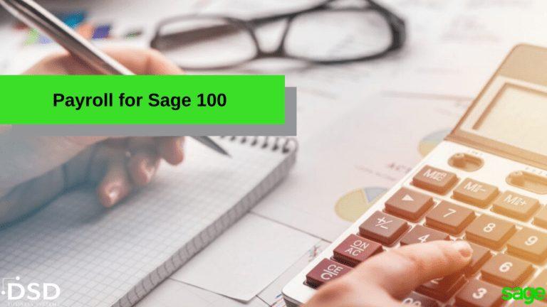 Payroll for Sage 100