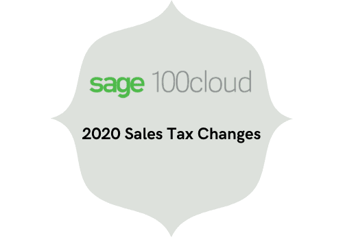 2020 sales tax changes
