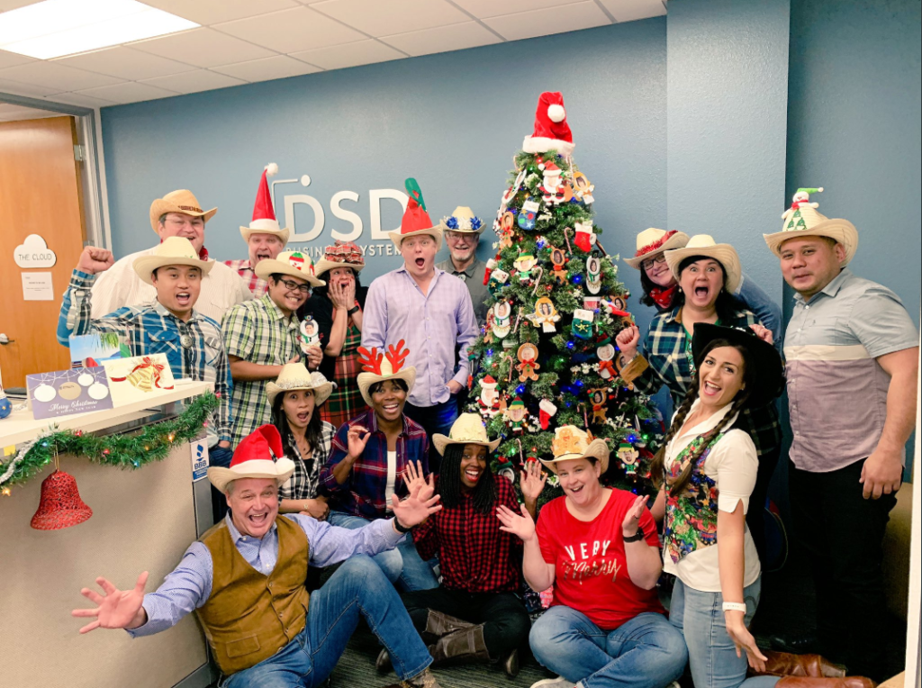DSD Business Systems Christmas 2018