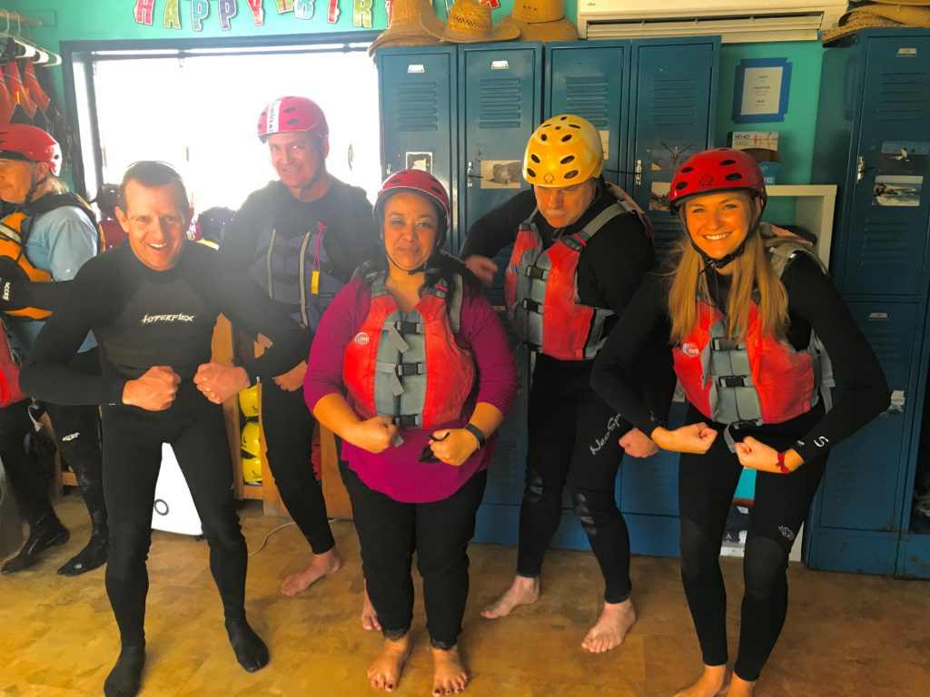 DSD Team Kayaking