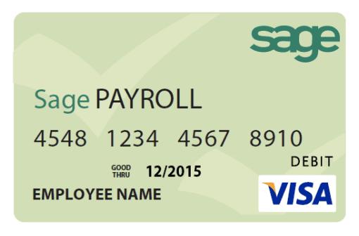 payroll paycard