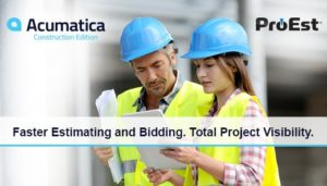 Acumatica Construction Webinar | Faster Estimating and Bidding. Total Project Visibility.