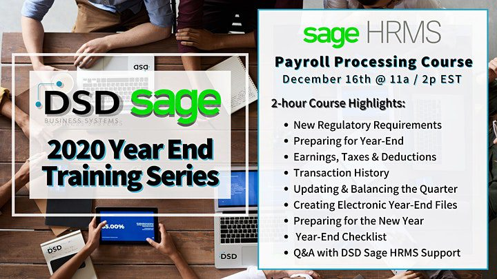 Sage HRMS Payroll Processing