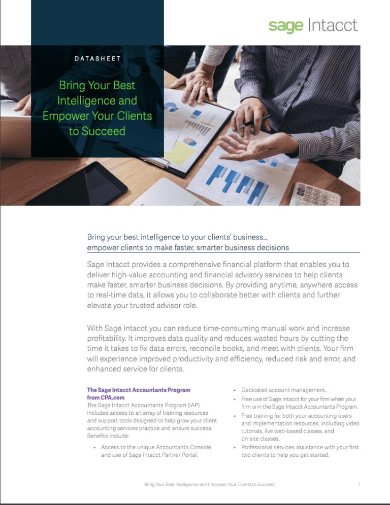 Accountants Program