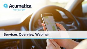 Acumatica Services Overview Webinar