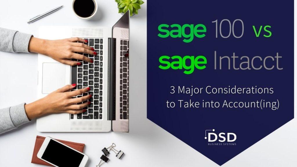 Sage 100 vs Sage Intacct