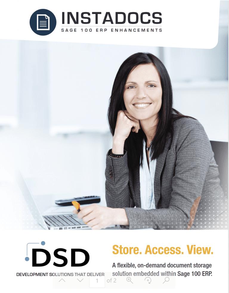 DSD InstaDocs Brochure