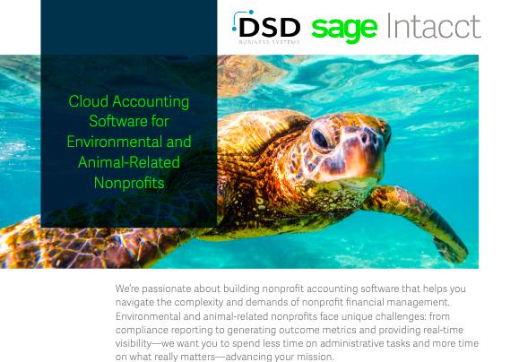 Sage Accounting Software Nonprofit
