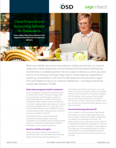 Cloud Financial and Accounting Software for Restaurants