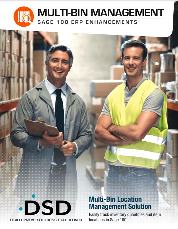 Multi-Bin Management Sage 100 ERP Enhancements