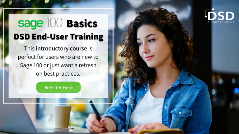 Sage 100 Basics - End User Training Course