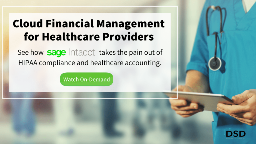 Cloud Financial Management for Healthcare Providers Webinar
