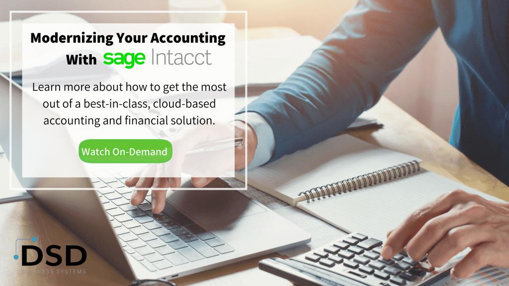 Sage Intacct Accounting