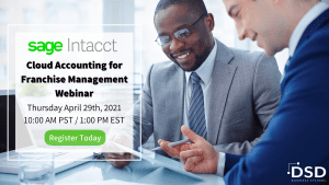Sage Intacct Franchise Accounting Webinar