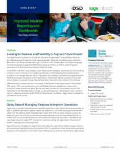 Sage Intacct Non Profit Accounting Solution