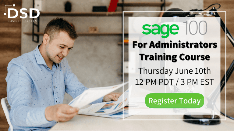 Sage 100 for Administrators Training Course