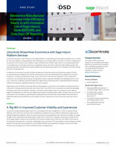 Sage Intacct: c3controls Customer Success Story