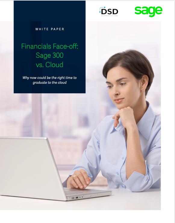 Financials Face-off: Sage 300 vs. Cloud