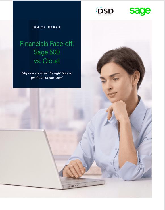 Financials Face-off: Sage 500 vs. Cloud