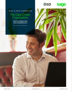 Sage Alerts & Workflow The Data-Driven Organization