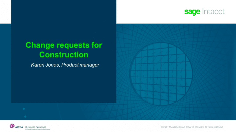 Sage Intacct 2021 R2 Release Notes