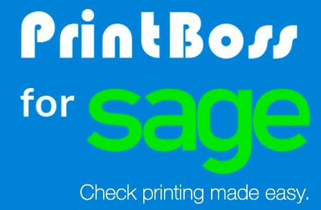 PrintBoss for Sage HRMS