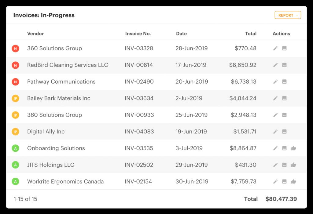 Sage AP Automation Invoices