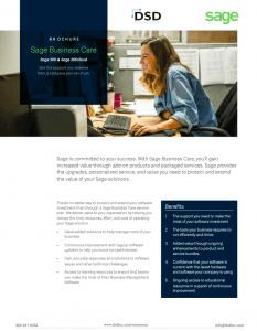 Sage 300 / 300cloud Business Care Brochure
