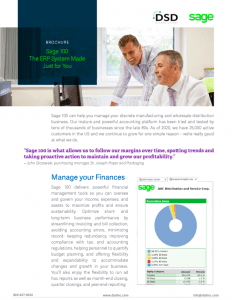 Sage 100 The ERP System Made Just for You