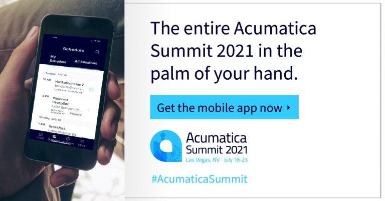 Acumatica Summit 2021 App