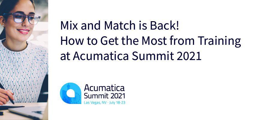 Acumatica Summit 2021 Training