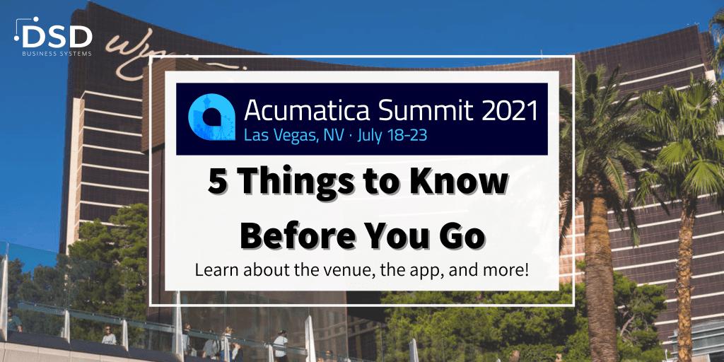 Acumatica Summit 2021