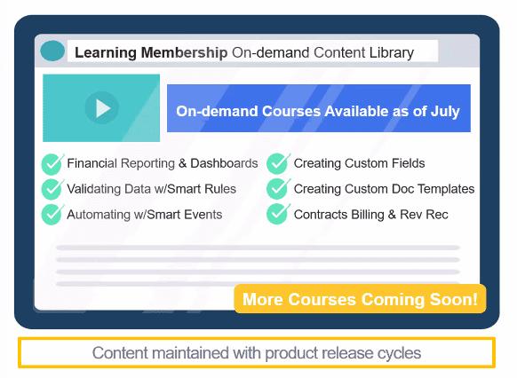 Sage Intacct Membership Learning
