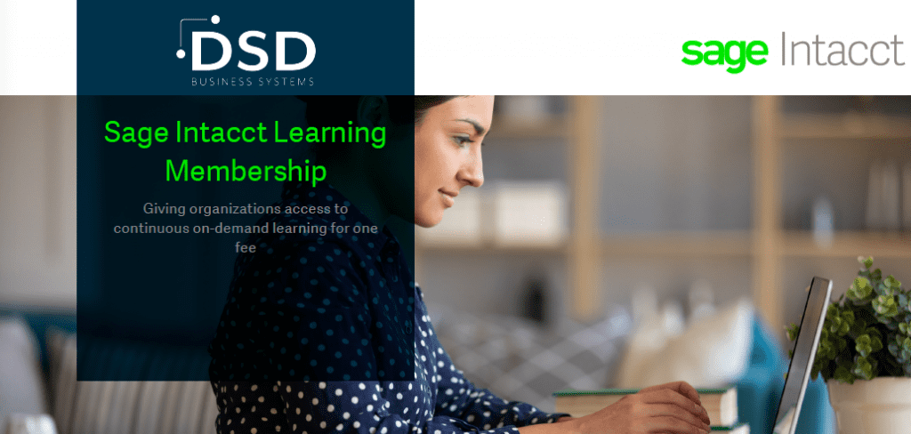 Sage Intacct Learning Membership