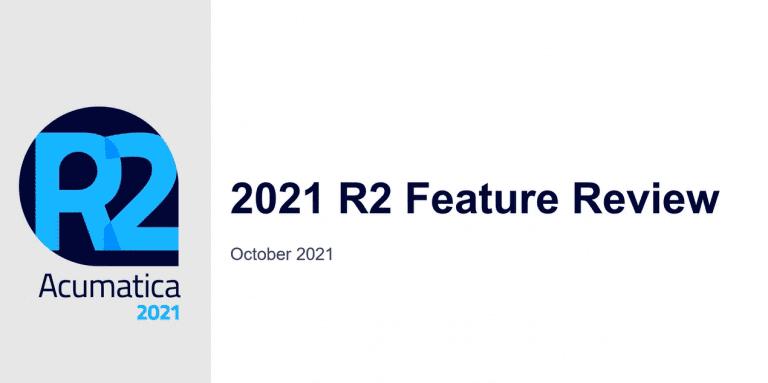 Acumatica 2021 R2