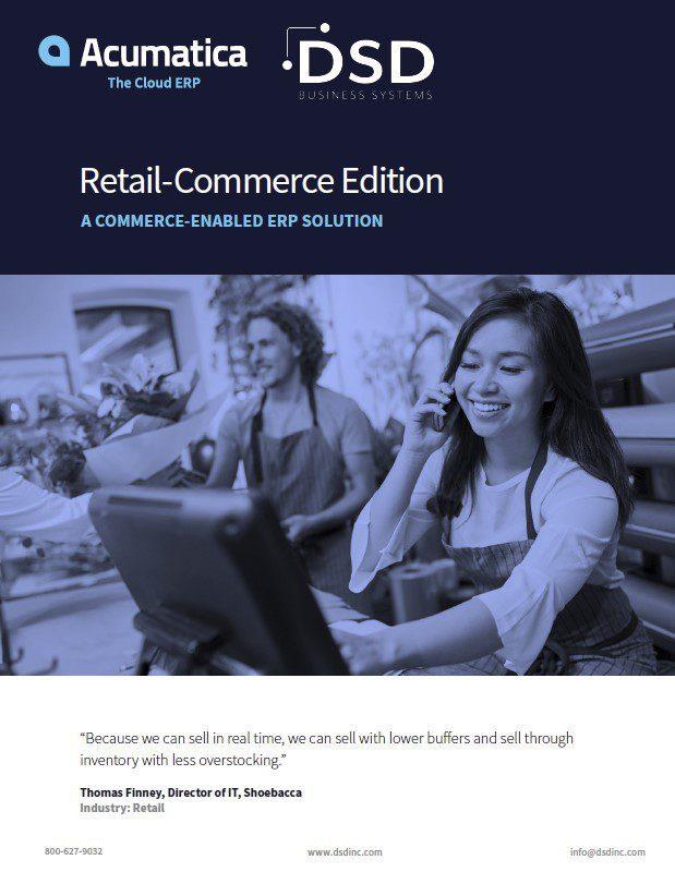 Acumatica Retail Commerce Edition
