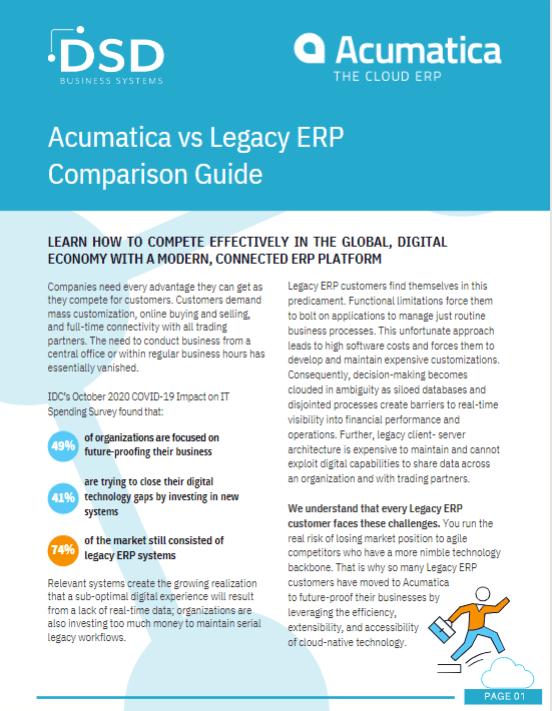 Legacy ERP vs Acumatica